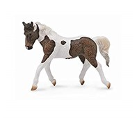 COLLECTA CAVALLO - Pinto giumenta Bay Marrone-Bianco 16 cm
