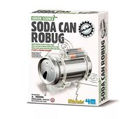 4M Robot ad insetto (Soda Can Robug)