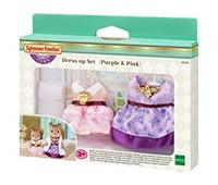 SYLVANIAN FAMILIES - Set Abitini per Due (Purple & Pink)