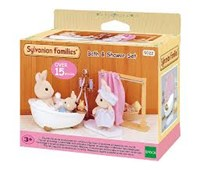 Sylvanian Families - Set bath & shower