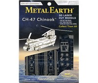 METAL EARTH - ELICOTTERO MILITARE CH-17 CHINOOK
